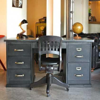 STRAFOR metal desk