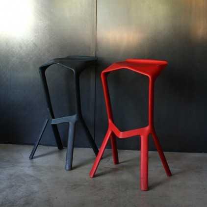 Miura bar stool by Konstantin Grcic