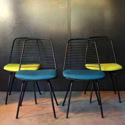 Chairs Jean Louis Bonnant 1956
